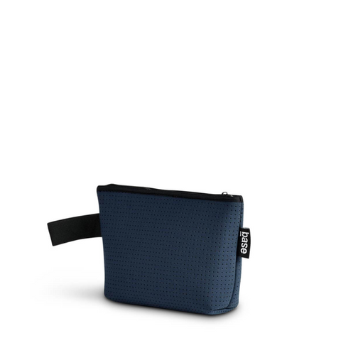 We love the SuperCool Navy Small Stash Clutch by Base Supply!  The Stash clutch is small but mighty. It fits lots, feels great to carry -- you'll wonder what you did without it!