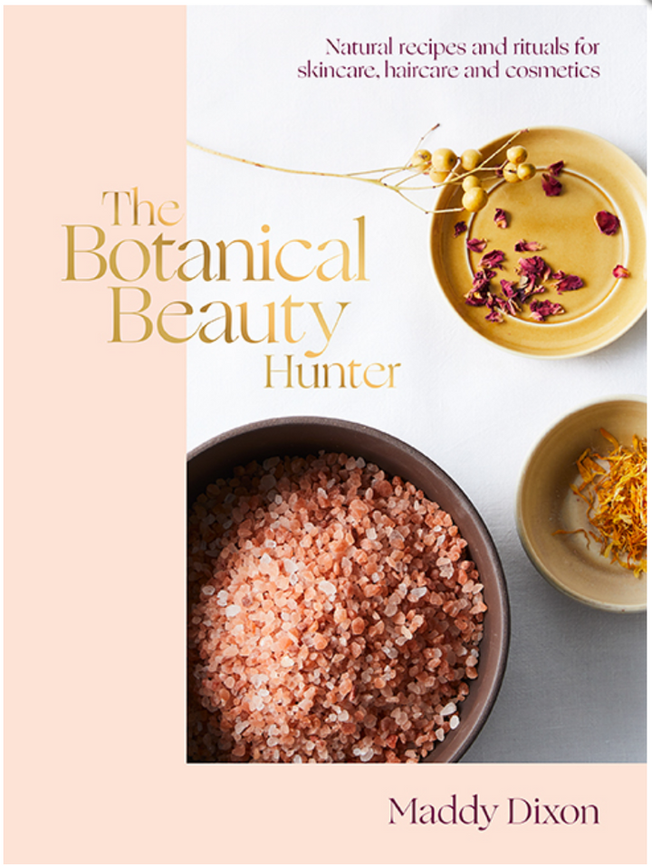The Botanical Beauty Hunter is a practical guide filled with recipes, advice and the secrets behind everything natural beauty, from ancient Ayurvedic beauty rituals to superfoods to eat for healthy beautiful skin.