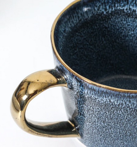 Looking for the perfect mug for yourself or for a gift is tricky - this Deep Blue Ariel Mug hits the spot though!