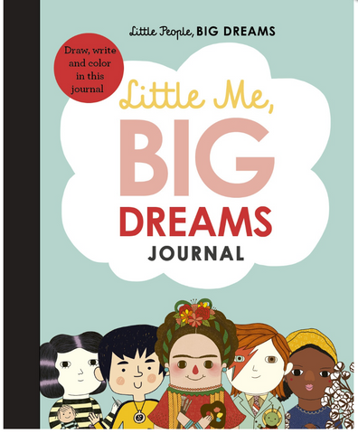 From the creators of the best-selling Little People, Big Dreams series, Little Me, Big Dreams Journal is a beautifully illustrated guided journal featuring quotes from the inspirational characters from the series and confidence-boosting activities.