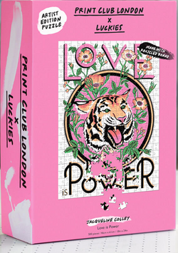 We are roaring with delight over this Love Is Power Puzzle by Luckies!