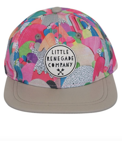 We dig this Sugar Mountains Cap by Little Renegade Company. Perfect for adding some all important Swag to one's outfit.  They feature a leather peak that can be worn flat or curved depending on the look you are after.
