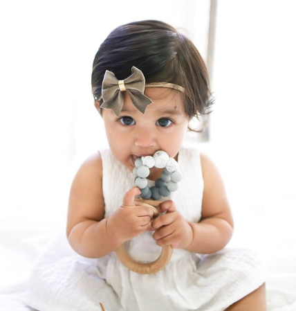 Ring Pop Teether- Grey Ombre
