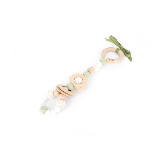 Ease your bubs teething with the Sage Hedgehog Teething Rattle Toy!  Designed by Lluie in Melbourne, Australia; the Sage Hedgehog Teething Rattle Toy encourage little ones to explore important milestones through tummy time or whilst lying on their backs.