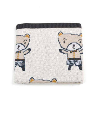 Looking for a useful but SuperCute baby present? Look no further than this Charlie Boy Baby Blanket by Indus!