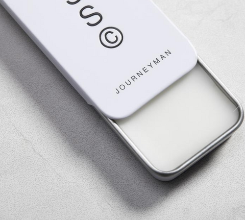 Journeyman solid cologne by Solid State is a game changer! It's the perfect travel size, take to work or after the gym, discreet and makes a brilliant gift.
