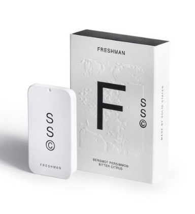 Freshman solid cologne by Solid State is a game changer! It's the perfect travel size, take to work or after the gym, discreet and makes a brilliant gift.