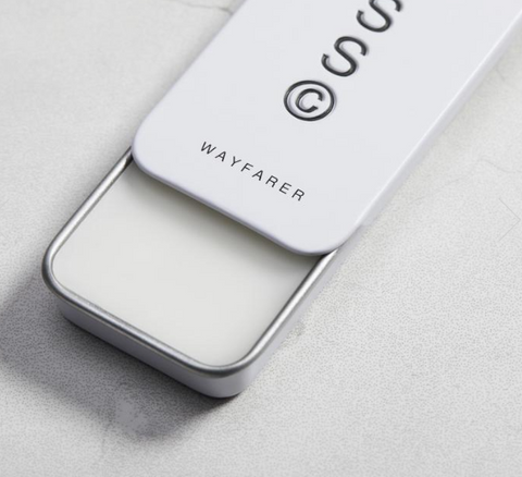 Wayfarer solid cologne by Solid State is a game changer! It's the perfect travel size, take to work or after the gym, discreet and makes a brilliant gift.
