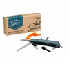 Go confidently into the wild with the Wilderness Multi-Tool by Gentlemen's Hardware. Designed for camping trips and forays into outdoor survival, this is an essential bit of kit for explorers, wanderers and lovers of the great outdoors