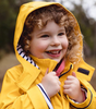 Yellow Stripy Raincoat