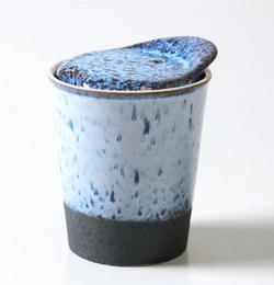 Want to save the planet but do it in style? Look no further than the Pavement Short Ceramic Coffee Cup by Indigo Love.