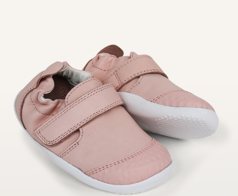 Comfy and Cool; the Kids SU xplorer Go seashell shoe by Bobux!