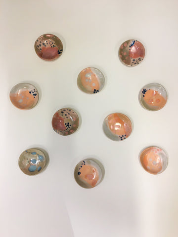 We are obsessed with these beautiful Ceramic Round Jewellery Dishes from Benna Co! These gorgeous ceramics are hand made and hand painted locally in Brunswick, Melbourne.