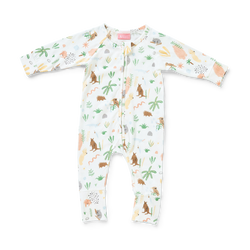 The Outback Dreamers print by Halcyon Nights is full of native animals, plants and rocks. These long sleeve PJ's are made from the softest cotton and elastane blend.