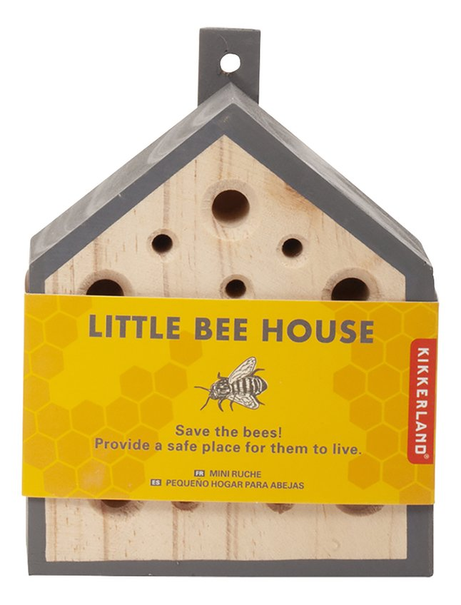 Can you BEE-lieve how Supercool this Little Bee House is?!