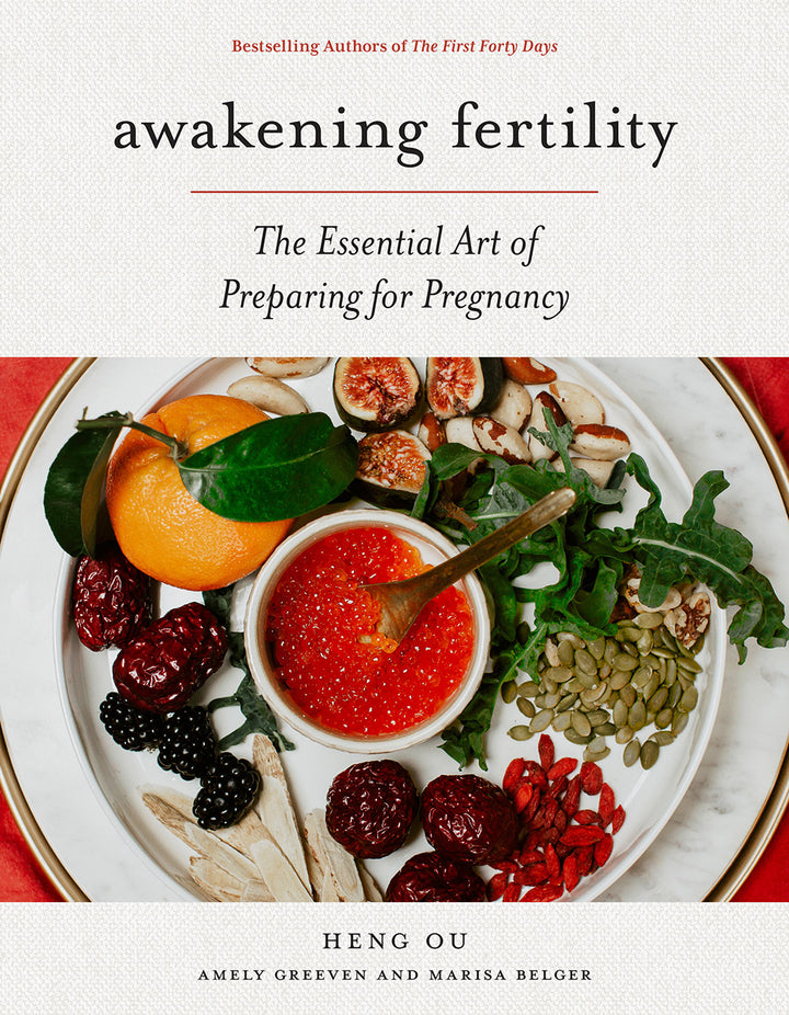 Awakening Fertility is a gently nurturing guide for aspiring mothers, filled with advice, recipes, and natural remedies for women trying to conceive.
