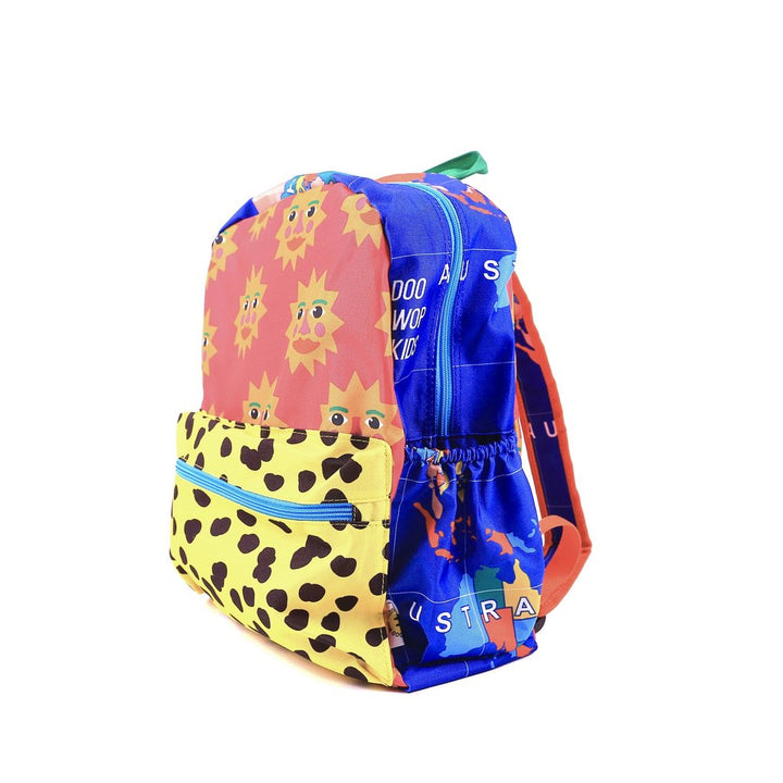 Introducing the new Doo Wop Kids' World Map Maxi backpack! Sized for children ages 6+, this backpack is perfect for the playground, school and your babes daily adventures!