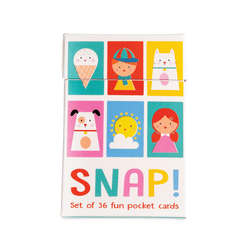 Who will be the first to win all the cards and be crowned Children's Snap Card champion?