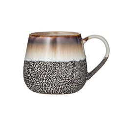 Enjoy a serve of your favourite hot or cold drink in the Roma Reactive Glaze Mug by Albi.