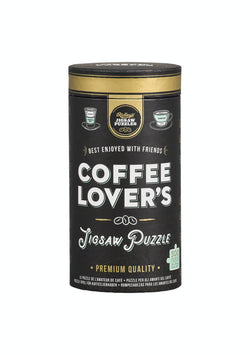 We love the Coffee Lovers 500 pc Jigsaw by Ridley's Games!