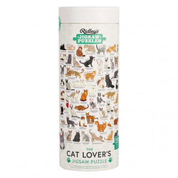 Hours of fun for the cat lover or puzzle genius in your life with the Cat Lovers 1000 piece Jigsaw from Ridley's Games!