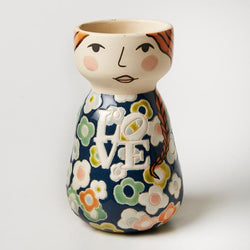 Do you wish your pots had more swag? This Lovisa Face Vase from Jones & Co. is for you!