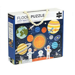 It's no secret we love puzzles, including this Outer Space Floor Puzzle from Petit Collage!