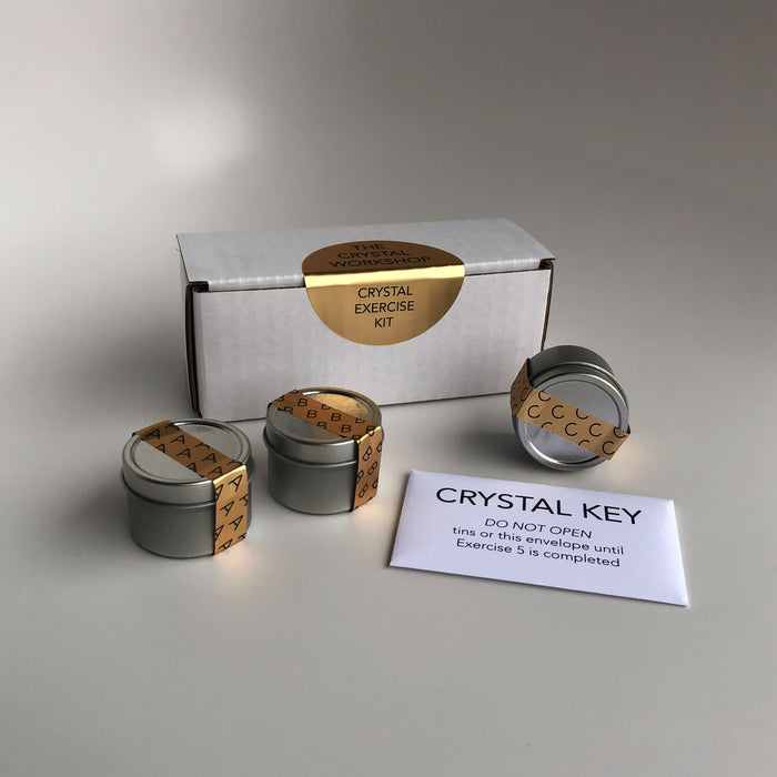 "Crystal Exercise Kit (for the exercises in ""The Crystal Workshop"" book)"