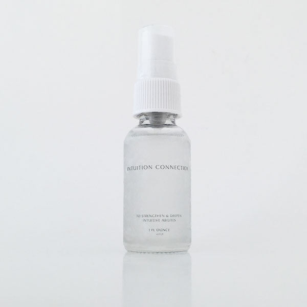 INTUITION CONNECTION Flower Essence & Gem Elixir Formula
