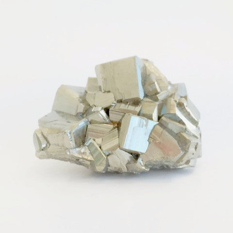 pyrite cluster place healing