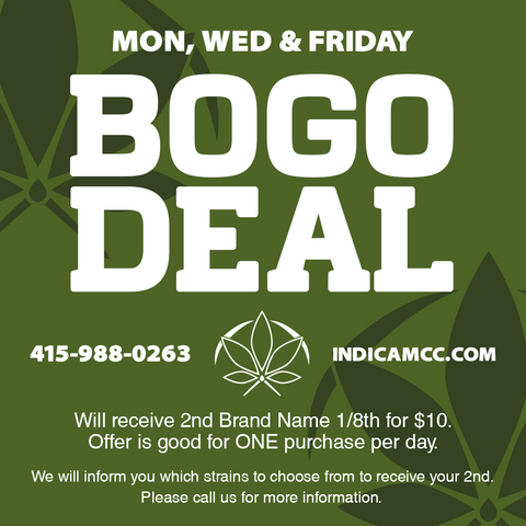$$$$ BOGO BUY 1 1/8 GET 2ND 1/8TH MINNTZ SUNGROWN