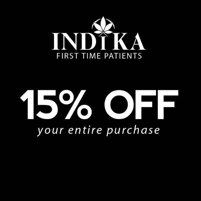 15% OFF - A FIRST TIME PATIENT USE CODE - INDIKA15