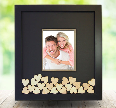 Drop Heart Frame with 8x10 Photo Opening