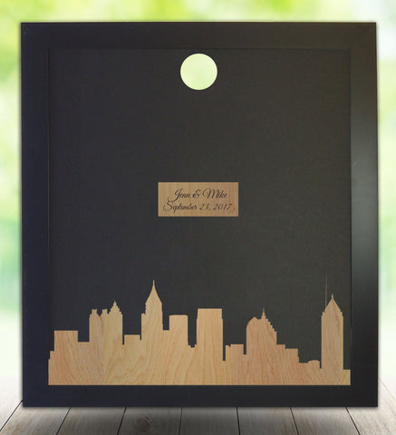 Atlanta Silhouette, Guest Book Alternative