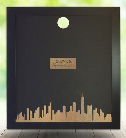 Chicago Silhouette, Guest Book Alternative