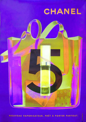 Chanel No.5 Sac - Purple/Yellow