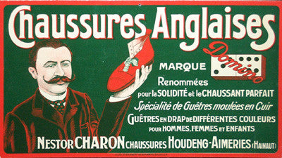 Carton - Chaussures Anglaises