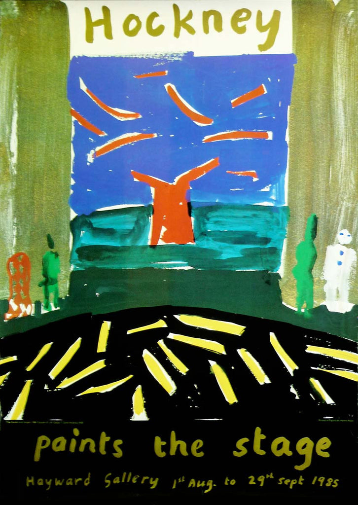 David Hockney - Paints the Stage