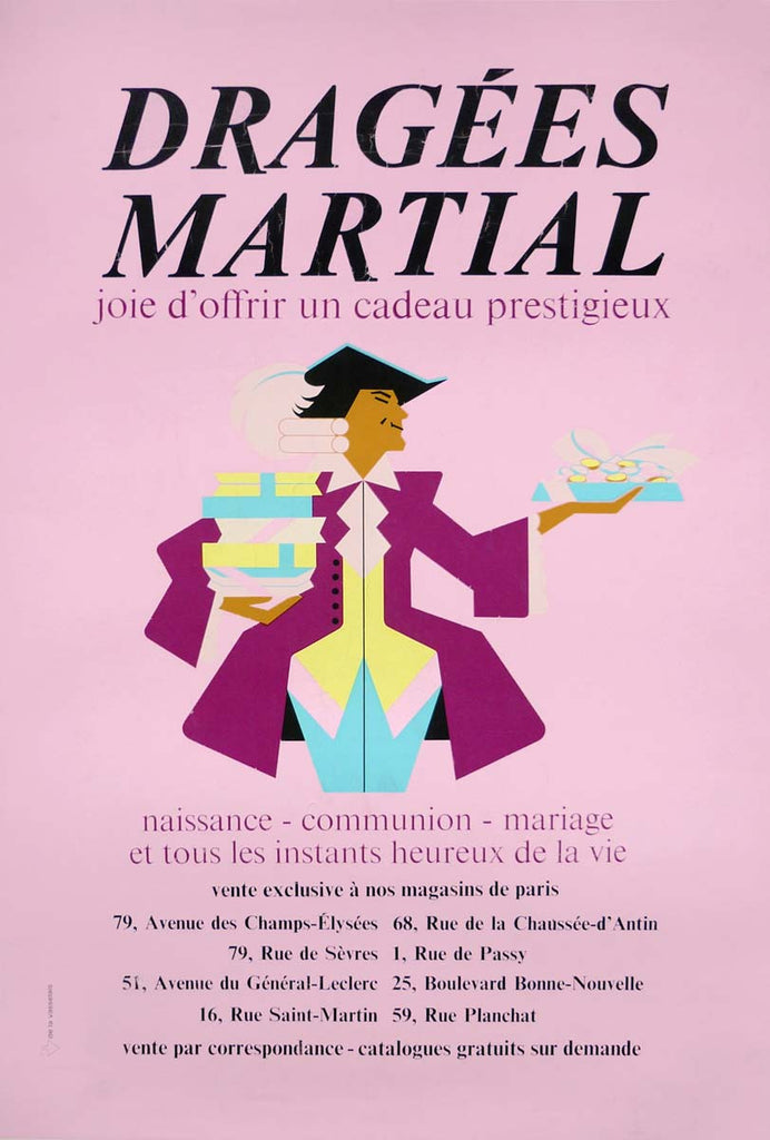 Dragées Martial