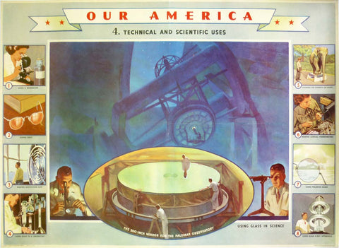 Our America - Glass 4. Technical and Scientific Uses