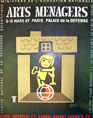 Arts Menagers Black 1967 Medium