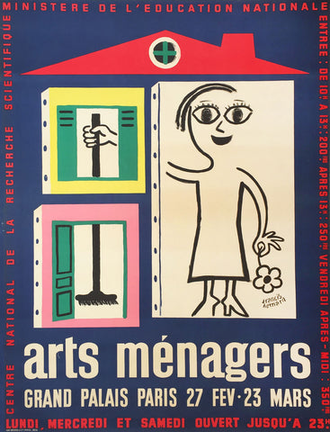 Arts Menagers Navy