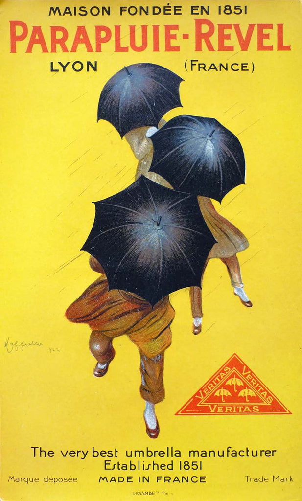 Parapluie, point of purchase