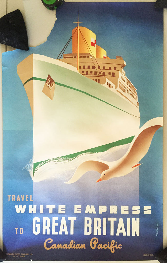 Canadian Pacific, White Empress to Great Britain