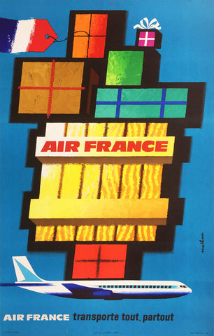 Air France - Transporte Tout, Partout