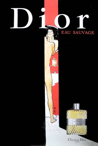 Dior Eau Sauvage - Bathroom
