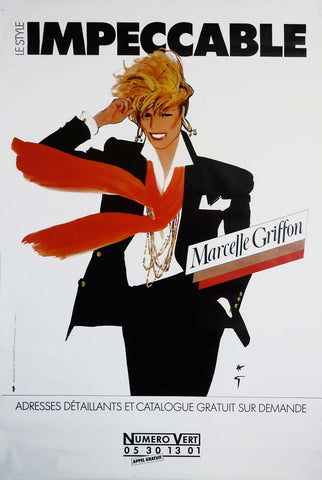 Marcelle Griffon Impeccable - Red Scarf