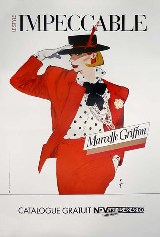 Marcelle Griffon Impeccable - Red Suit