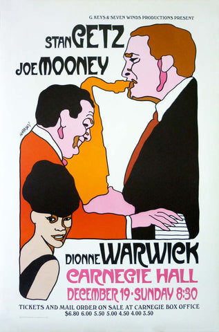 Getz, Mooney, Warwick - Carnegie Hall