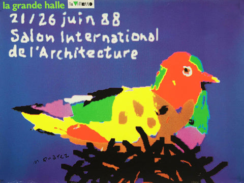 Salon International de l'Architecture 1988